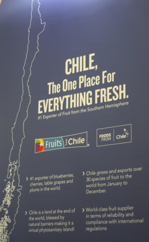 Chile auf der Fruit Logistica 2019