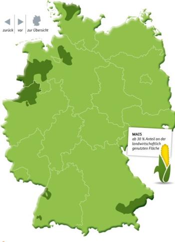 Deutschlandkarte Landwirtschaft Herd Und Hof De